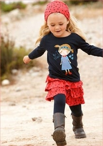 Image of LONG SLEEVE TOP | SKIRT | LEGGINGS | HEADBAND