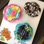 Image of posy hair clips - 48