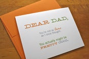 Image of Not as Lame as I Thought - Dad Card