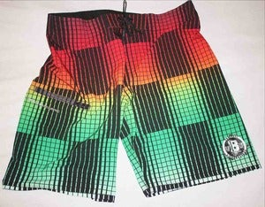 Image of Rasta This Board Shorts