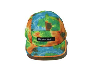 "Image of Chari & Co ""TIE DYE 5PANEL CAP"""