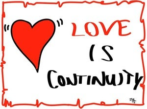 Image of Love is Continuity