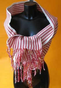 Image of Hand Woven Kente Scarves (1)