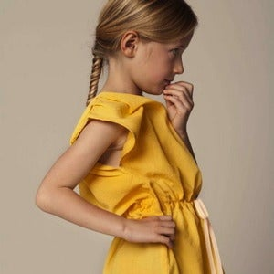 Image of GRO ° dress mustard