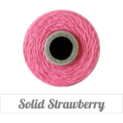 Image of Solid Strawberry Twine Spool -240 yards