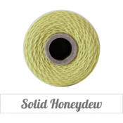 Image of Solid Honeydew Twine Spool - 240 yards