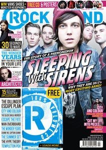 Image of ISSUE 175 / SLEEPING WITH SIRENS + FREE POSTERS