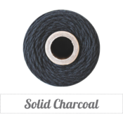 Image of Solid Charcoal Twine Spool - 240 yards