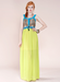 Image of Color Block Maxi Dress