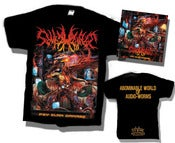 Image of 7 H.TARGET - Psy Slam Damage T-SHIRT + CD