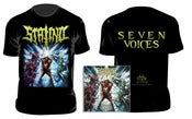 Image of STALINO - Seven Voices T-SHIRT + CD