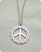Image of Peace and Daisies Necklace