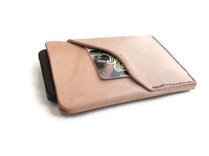 Image of Leather iPhone Case with Card Holder