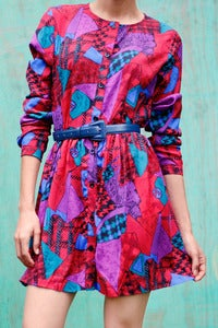 Image of Abstract Geo Dress