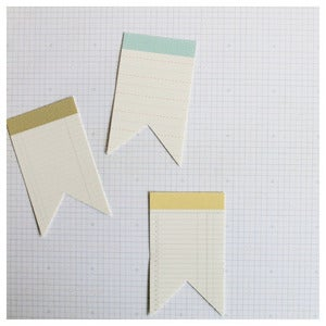 Image of mini pennant tags