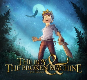 Image of The Boy & The Broken Machine [EP] 2013 - PreOrder
