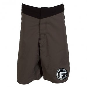 "Image of Ground Fighter ""The Icon"" Fight Shorts - Grey"