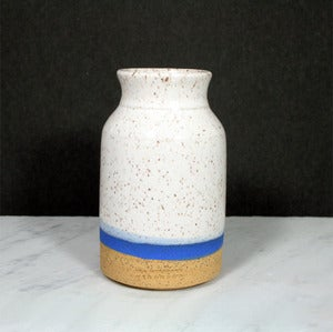 Image of BLUE BAND CARAFE