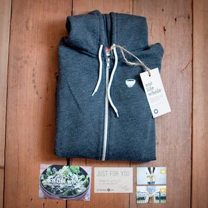 Image of Hoodie (Heather Black)