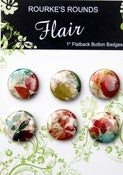 "Image of Herbarium Flair - 6 x 1"" Buttons / badges - Rourke's Rounds"