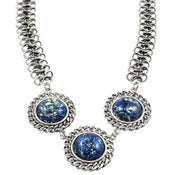 Image of Viv Necklace-Navy