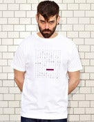 Image of WORD SEARCH - white shirt