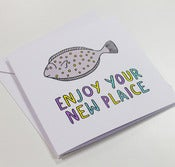 Image of Enjoy Your New Plaice New Home Card