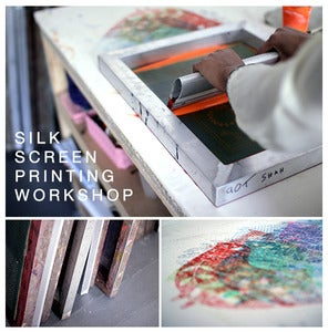 Image of Silk Screen Printing Workshop - Saturday 7th September 2013