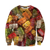 Image of Gummy Bears Overprint Sweatshirt