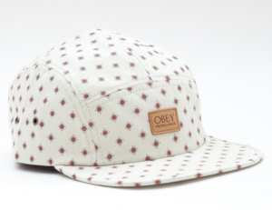 Image of Stately 5 panel hat by Obey