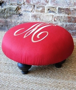 Image of Monogram Foot Stool