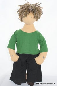 Image of T-Shirt and Pants sets for PapAmor dolls