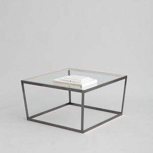 Image of Frame Coffee Table, Black