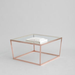 Image of Frame Coffee Table, Copper