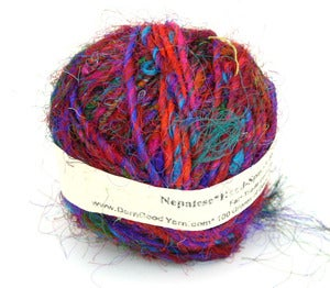 Image of The Original! DGY's Fair Trade Premium Recycled Sari Silk Yarn