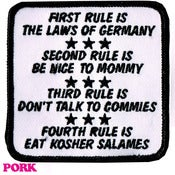 Image of THE RULES PATCH