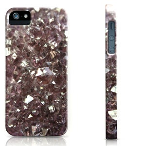Image of Amethyst Crystal Cell Phone Case