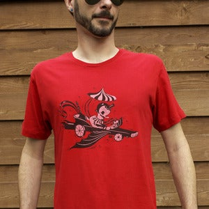 Image of Mens Peppermint Man T-Shirt: &quot;Cherry Valance&quot;