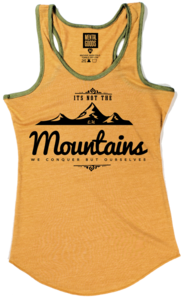 Image of MOUNTAINS LADIES TANK TOP