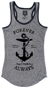 Image of FOREVER ALWAYS LADIES TANK TOP
