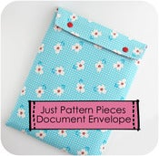 Image of Just Pattern Pieces - Document Envelope