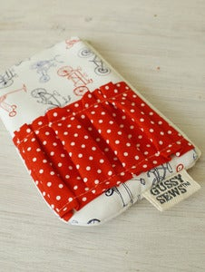 Image of Mini Scooters medium zip pouch