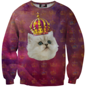 Image of King cat sweater