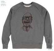 Image of Laughing Grey Sweatshirt (Organic)