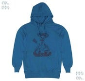 Image of Day of the Dead  Blue Hoody (Organic)