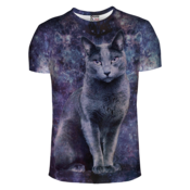 Image of Black cat t-shirt