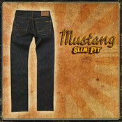 Image of MUSTANG 13.5OZ INDIGO