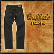 Image of BUFFALO 13.5OZ INDIGO