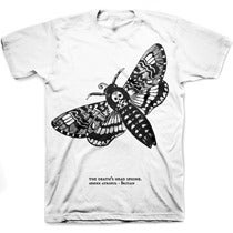 Image of DEATH'S HEAD MOTH tee shirt
