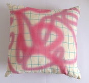 Image of Graffiti hemp cushion